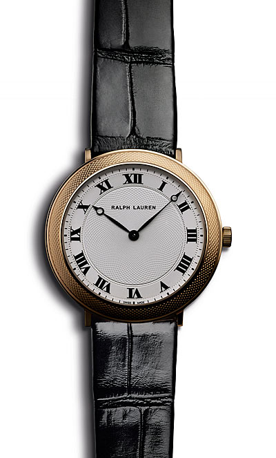 RALPH LAUREN SLIM CLASSIQUE COLLECTION, 32MM MODEL, ROSE GOLD