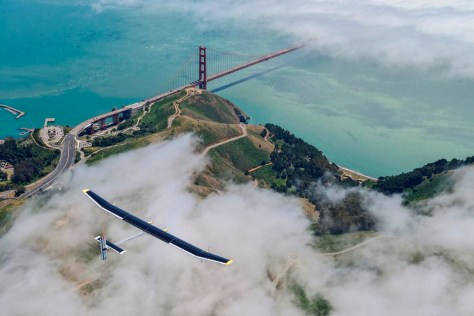 Solar Impulse Golden Gate Flight