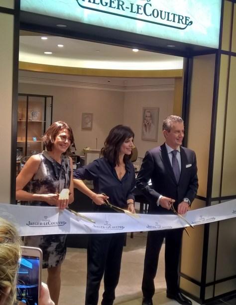Inauguración Boutique JLC - Corte de cinta