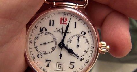 Longines Single Push Piece Chronograph