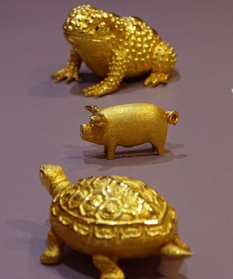 Degussa Colección Rothschild animales decorativos Corea del Sur