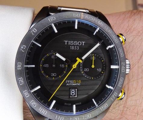 Tissot PRS 516 Automatic Chronograph amarillo