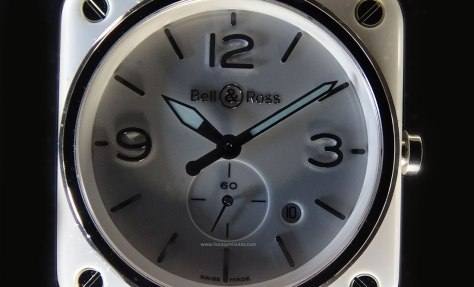 Bell Ross White Ceramic SuperLuminova