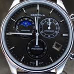 Certina DS-8 Chronograph Moon Phase: fotos en vivo y precio