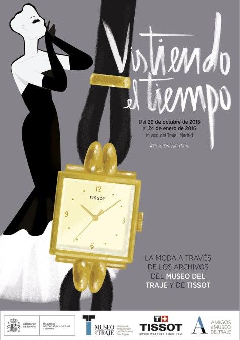 Cartel oficial Tissot Museo del Traje