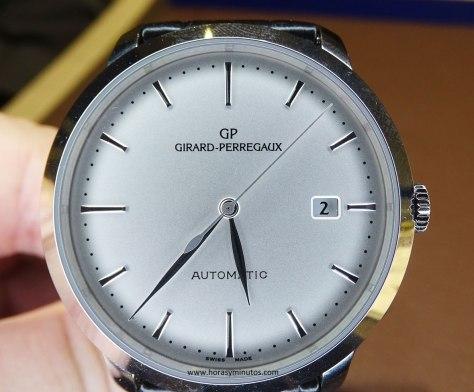Girard-Perregaux 1966 acero frontal 1