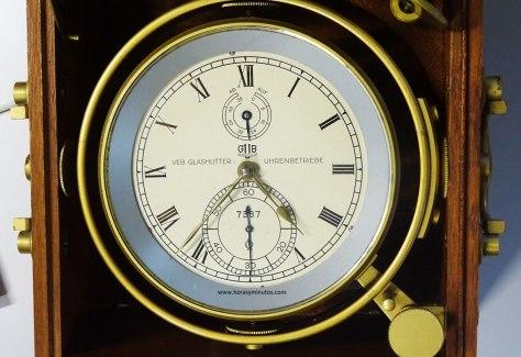 Glashutte Original cronómetro marino