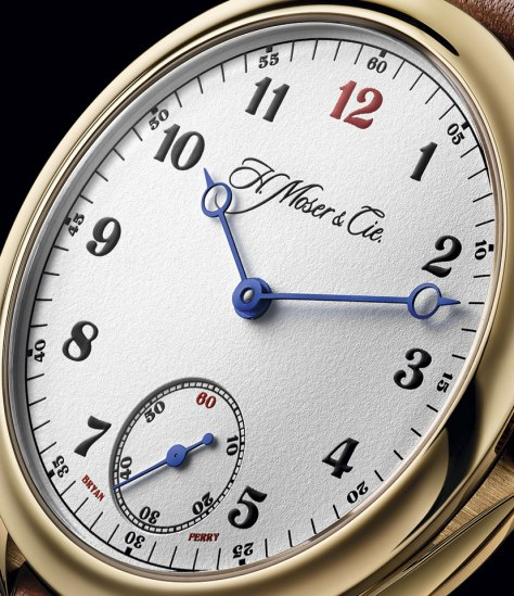 H.moser Endeavour Small Seconds Bryan Ferry esfera
