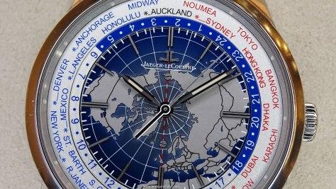 Jaeger-LeCoultre Geophysic Universal Time acero esfera