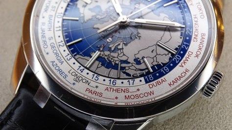 Jaeger-LeCoultre Geophysic Universal Time detalle de la esfera