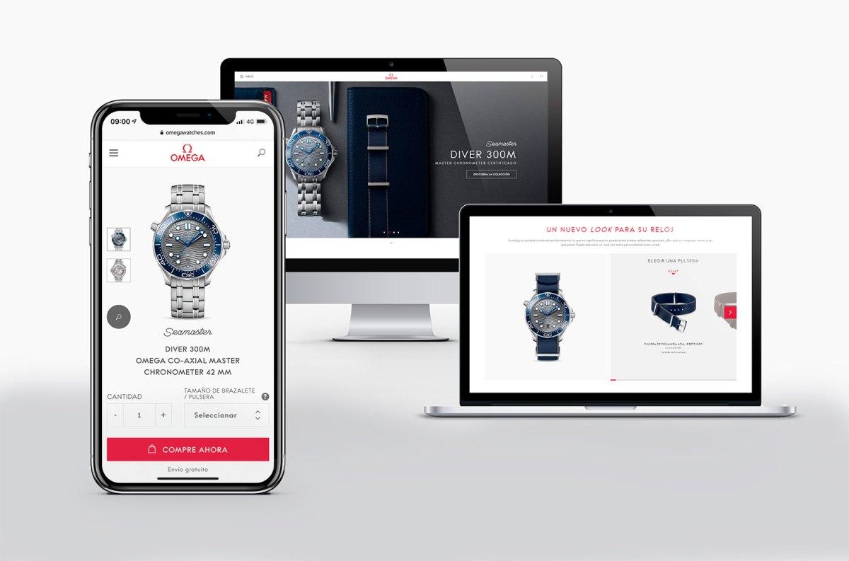 Omega abre su tienda online en España