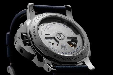 Panerai-blue-dial-Luminor-1950-3-Days-GMT-Automatic-Acciaio-calibre-Horasyminutos