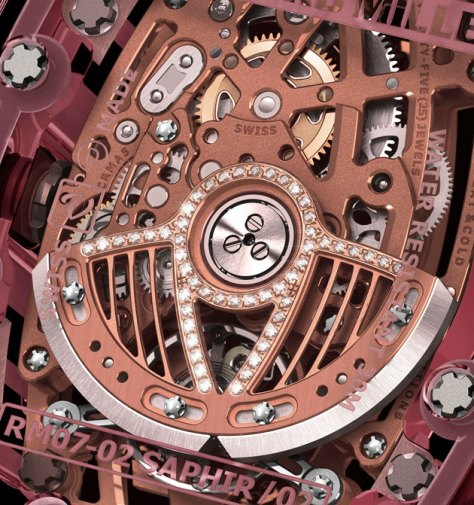 Richard Mille RM07-02 - rotor