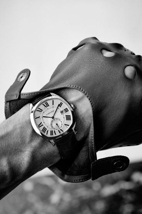SIHH-2016-Novedades-Cartier-Drive-automatico-acero-en-la-muneca
