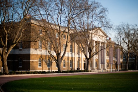 The Saatchi Gallery at the former Chelsea Barracks in London, UK