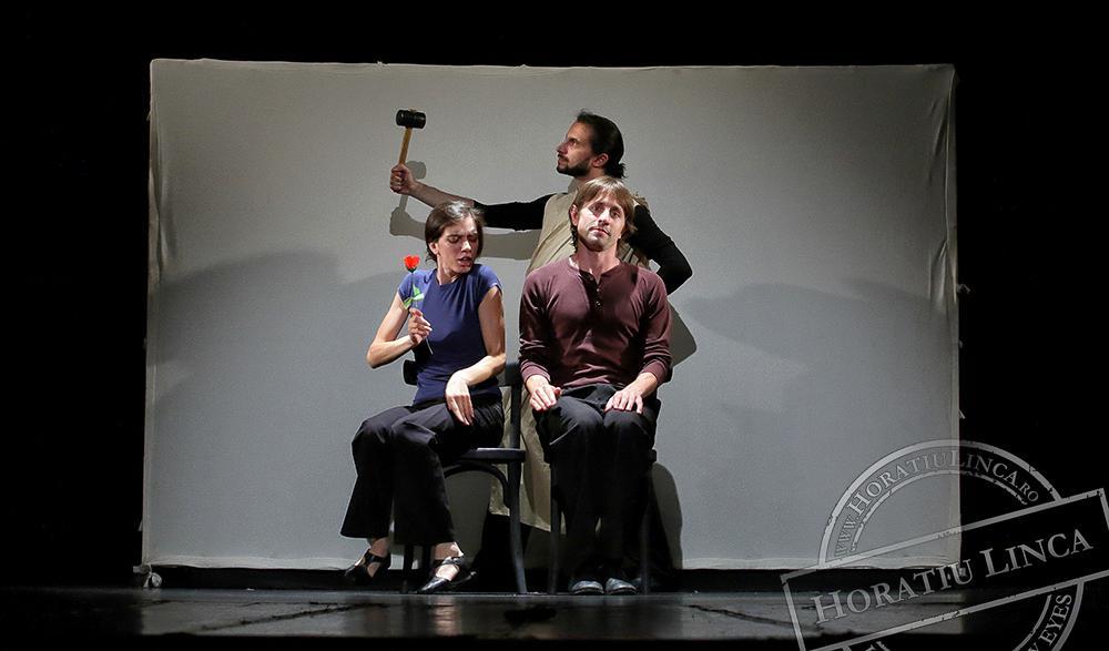 teatru – necuvinte – 02 Adrian Nour, Toni Dumitrescu si Ana Pepine copyright Horatiu Linca