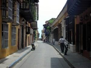 Hören in Cartagena Altstadt