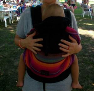 emeibaby csatos hordozó 3 évessel is múködik