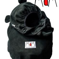 Fekete-fekete hordozós takaró