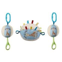 Plüss puha labda, amit külön-külön vagy akár egyben összefűzve is használhatsz!