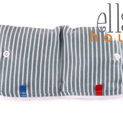 Szürke-csíkos Intimbetét tartó táska-Ella's House