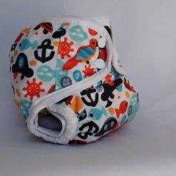 Huncut kalózos mosható pelenka külső-T-tomi