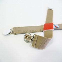 Drapp - Fehér pulcsitróger