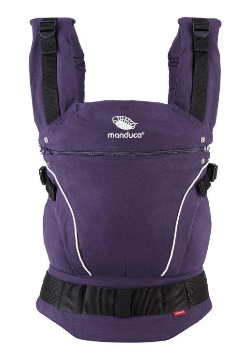 Manduca csatos babahordozó Pure Cotton purple