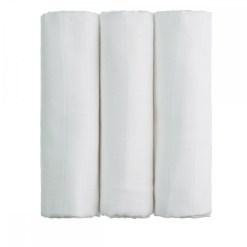 Bio bambuszos tetra pelenka 3 db-os T-tomi fehér