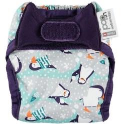 Pop-In mintás újszülött pelenka pingvines (Seb & Tallulah)