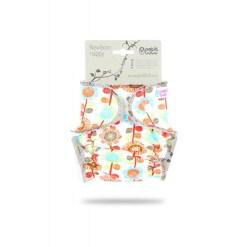 Petit Lulu újszülött pelenkanadrág virágos patentos