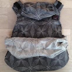Emeibaby csatos hordozó full Baali grey