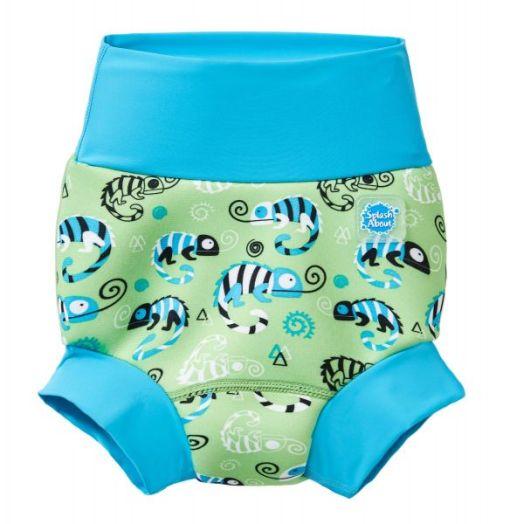 Happy Nappy mosható úszópelenka – Green Gecco
