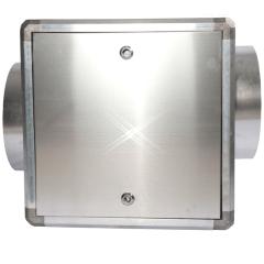 lege afzuigbox aluminium 510×510 mm