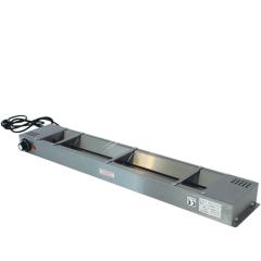 Rvs bordenwarmer 960x150x60 mm