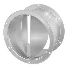 Ruck® zelfsluitende dakafsluitklep, gegalvaniseerd plaatstaal Ø 180 mm (DVK 180 10)