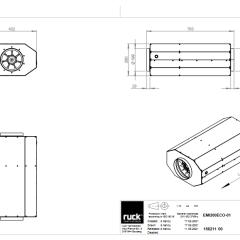 Geïsoleerde EC buisventilator 1140 m3/h – (EMI 200 EC 01)