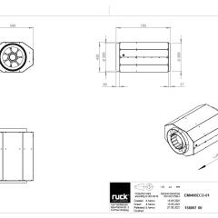 Geïsoleerde EC buisventilator 5760 m3/h – (EMI 400 EC 01)