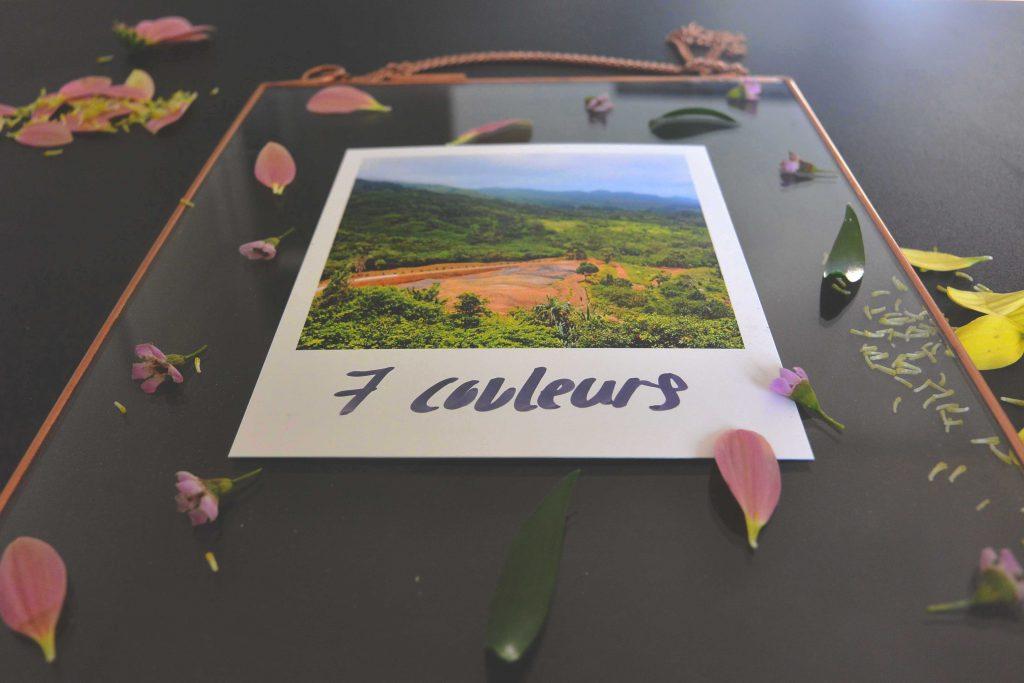 Cadre photo fleuris
