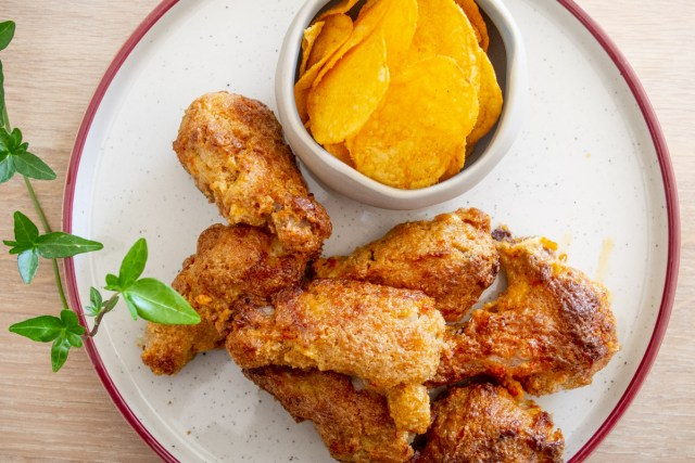 Spicy Crispy Chicken – KFC like
