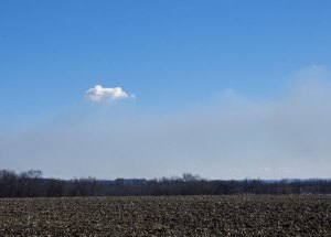 A Cloud Forms on the Smoke