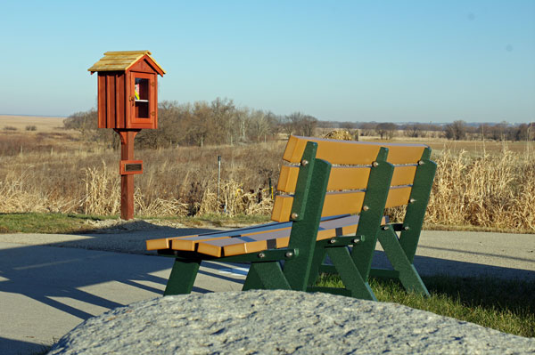 New Bench at the Horicon Marsh