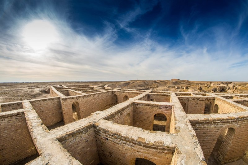 Early Bronze Age city states like the Sumerian city of Ur in Mesopotamia were likely to have been breeding grounds for the plague. Image credit - Aziz1005, licensed under CC BY 4.0