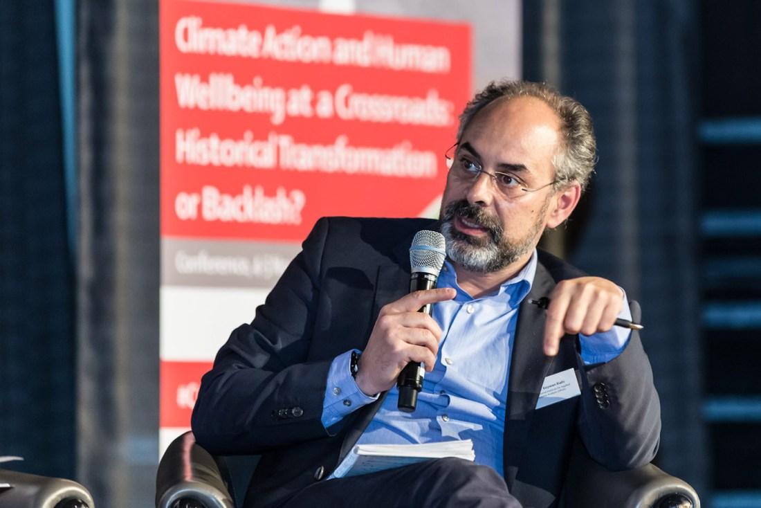 Dr Keywan Riahi said the first step in limiting global warming should be curbing energy demand. Image credit - Dr Riahi