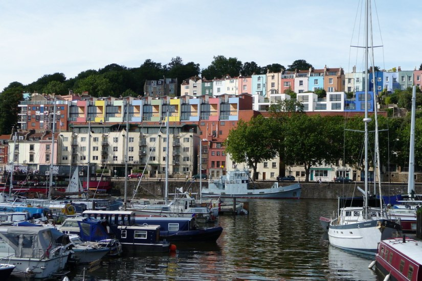 Bristol is developing new housing solutions to reimagine better ways of living in the city. Image credit: aaron.bihari/Flickr, licensed under CC BY-SA 2.0.