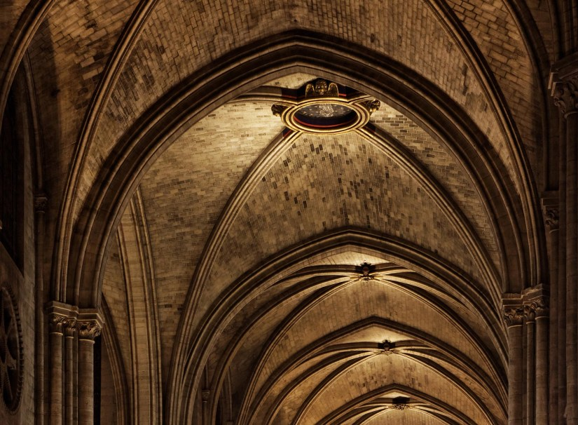According to Prof. Wendland the damaged vaults of Paris' Notre Dame should be restored according to 19th century methods. Image credit - Thesupermat/ Wikimedia Commons is licensed under CC BY-SA 3.0