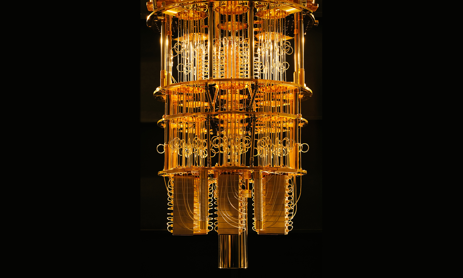 As a quantum computer can be in many states at the time it enables the calculation of many possibilities at once, says Dr Thomas Monz. Image credit - Flickr/IBM Research, licensed under CC BY-ND 2.0