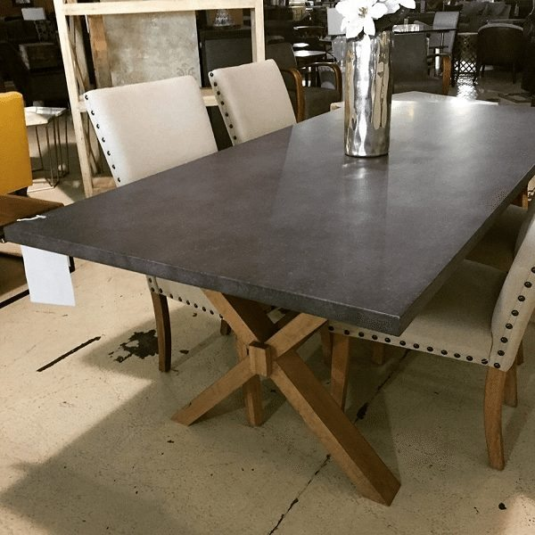 Zinc Top Table Horizon Home Furniture
