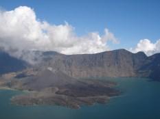 Anak Rinjani - crater