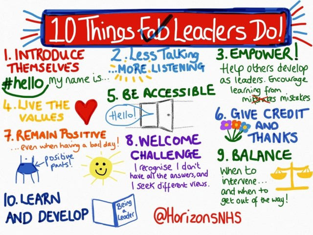 10 Things Fab Leaders Do